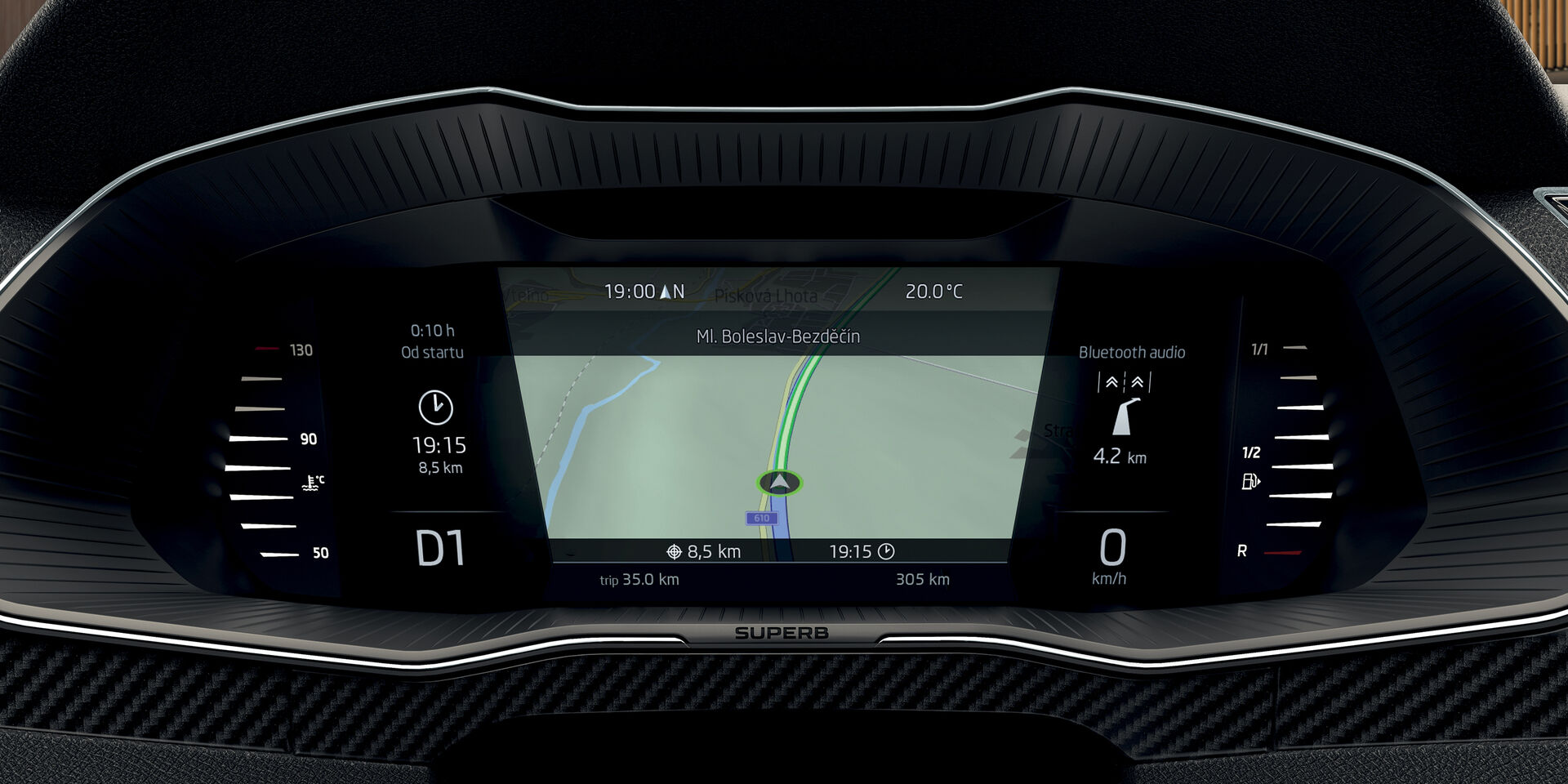SKODA Superb Combi Navigationssystem